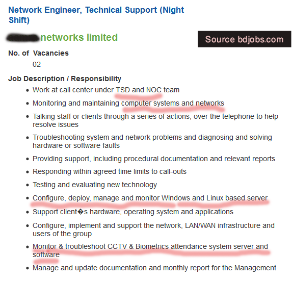 Network-engineer-responsibility